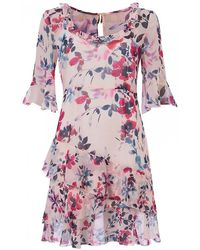 French Connection - Linosa Crinkle Dress - Lyst