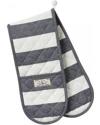 Joules - Galley Grade Yarn Dyed Stripe Oven Gloves (w) - Lyst