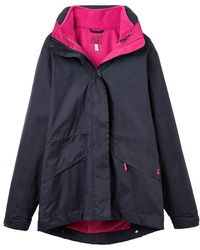 Joules - Keswick Ladies 3 In 1 Jacket (t) - Lyst
