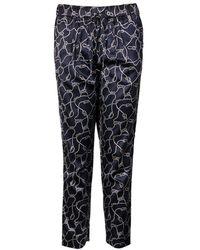 GANT - Ocean Safari Rope Printed Ladies Trousers - Lyst
