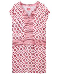 Joules - Agnes Printed Dress - Lyst