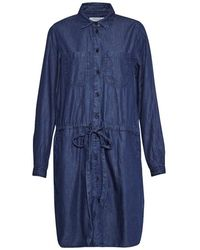 Great Plains - Light Weight Denim Womens Shirt Dress - Lyst
