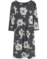Joules - Beth Printed Jersey Womens Dress (x) - Lyst