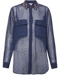 Great Plains - Highland Embroidery Womens Shirt - Lyst