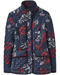 Joules Newdale Printed Womens Jacket (x)