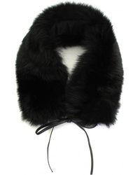 Woolrich - Fox Fur Ladies Ring Scarf - Lyst