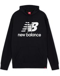 New Balance - Essential new blance hoodie - Lyst