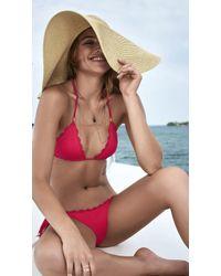 AlmaMia Swimwear - Sea Loving Triangle Bottom P - Lyst