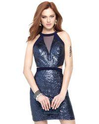 ba6dcf2875f Lyst - Alyce Paris 6418 Prom Dress In Sky Blue Nude in Blue