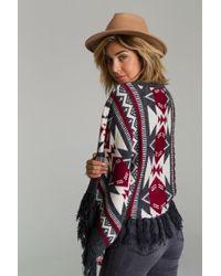 Raga - Aztec Dreams Fringed Sweater - Lyst