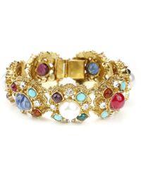 Ben-Amun - Byzantine Pearl And Stone Bracelet - Lyst