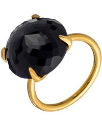 Heather Hawkins - Radiate Gemstone Ring - Black Spinel - Lyst