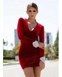 Savee Couture - Drvtrs Dawn Breaker In Red Velvet - Lyst