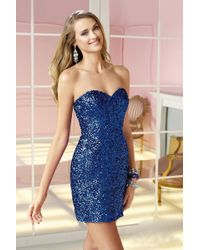 Alyce Paris - Homecoming - Dress In Sapphire - Lyst