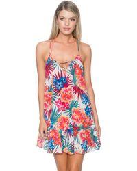 Sunsets Swimwear - Riviera Dress Cover Up Fiji - Lyst