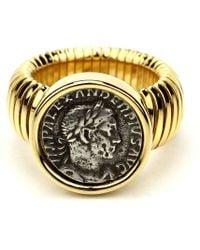 Ben-Amun - Roman Coin Gold Coin Ring - Lyst