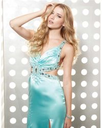 Jasz Couture - Dress In Ice Blue - Lyst