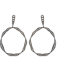 Irit Design - Sterling Silver And Diamond Earrings - Lyst