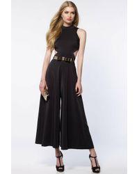 Alyce Paris - Jumpsuit In Black Gold - Lyst