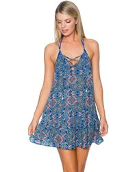 Sunsets Swimwear - Riviera Dress Cover Up 952pomp - Lyst
