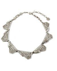 Ben-Amun - Geometric Crystal Necklace - Lyst