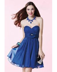 Alyce Paris   Homecoming - Dress In Sapphire   Lyst