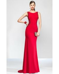 Alyce Paris | Black Label - Long Dress In Red | Lyst