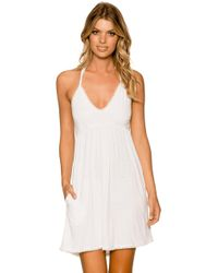 Sunsets Swimwear - Summer Crush Dress Cover Up Whit - Lyst