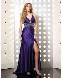 Jasz Couture - Dress In Purple - Lyst