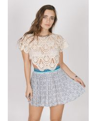 Raga - Love Spell Mini Skirt - Lyst
