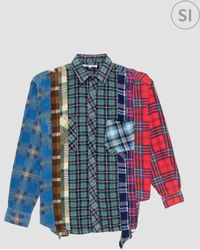 Needles - Rebuild By 7 Cut Shirt - Lyst