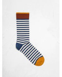Bonne Maison - Stripe Sock In Blue - Lyst
