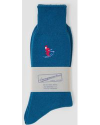 Anonymous Ism - Embroided Crew Ski Socks - Lyst