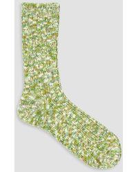 Mauna Kea - Multi Colour Slub Sock - Lyst