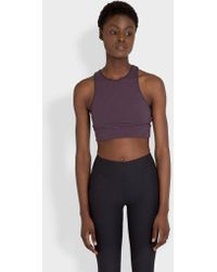 Outdoor Voices - Striped Slashback Crop - Lyst