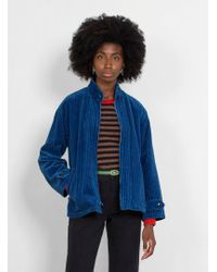 Caron Callahan - Harrington Corduroy Jacket - Lyst