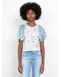 Anntian - Shoulder Circle Top - Lyst
