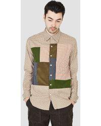 Rough & Tumble - Cut & Sew Block Shirt - Lyst
