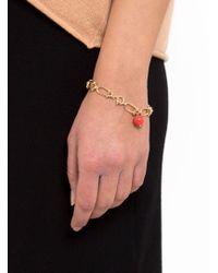 Helena Rohner - Link Bracelet With Stone Bead - Lyst