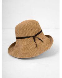 Mature Ha. - Paper Crochet Hat Wide - Lyst