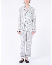 Creatures of Comfort - Pajama Set Eden Print - Lyst