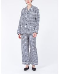 Creatures of Comfort | Pajama Set Mini Check | Lyst