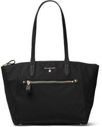 MICHAEL Michael Kors - Nylon Kelsey Medium Top Zip Tote Bag - Lyst