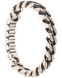 Werkstatt:münchen - Curb Chain Bracelet Expanding Links - Lyst
