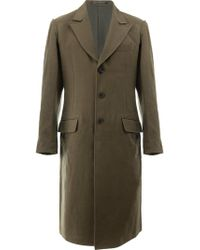 Yohji Yamamoto - Wool Coat Detachable Vest - Lyst