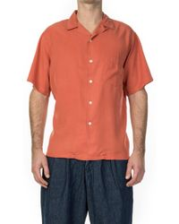Portuguese Flannel - Dogtown Shirt Pink - Lyst