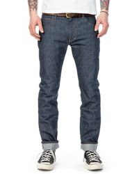 Lee Jeans - Rider Jeans Slim Dry Indigo Selvage 13.5oz - Lyst