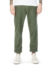 Orslow - Us Army Fatigue Trousers Slim Green - Lyst