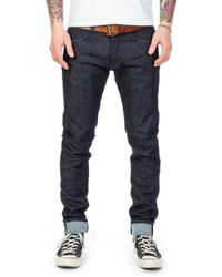 Edwin Ed-85 Cs Red Listed Selvedge Blue Rinsed
