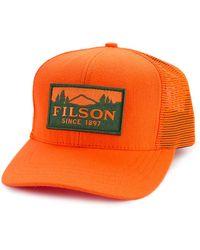 Filson - Logger Mesh Cap Blaze Orange - Lyst